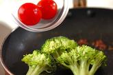 ブロッコリーのアンチョビ炒めの作り方2