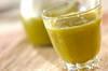 白菜と柿のジュースの作り方の手順