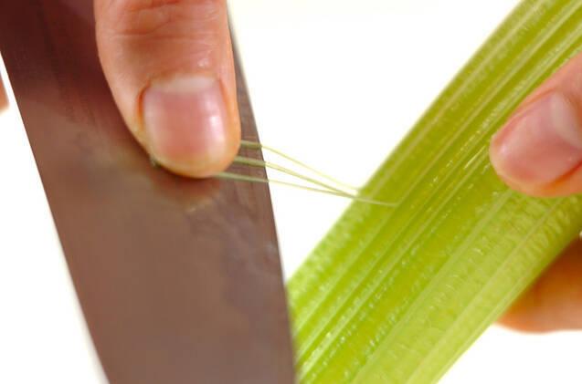 サヤインゲンのサラダの作り方の手順2