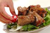 骨付き豚バラ肉の塩焼きの作り方3