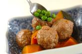 カボチャと肉団子の煮物の作り方3