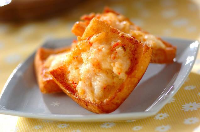 車海老のトースト
