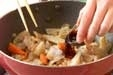 豚肉と根菜のきんぴらの作り方2