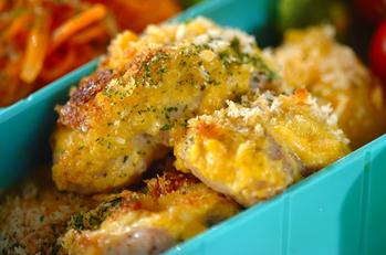 鶏のパン粉焼きマスタード風味