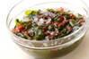いろいろ海藻サラダの作り方の手順1