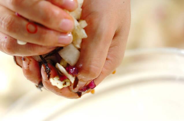 キャベツの昆布漬けの作り方の手順4