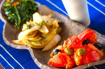 野菜の三色炒め