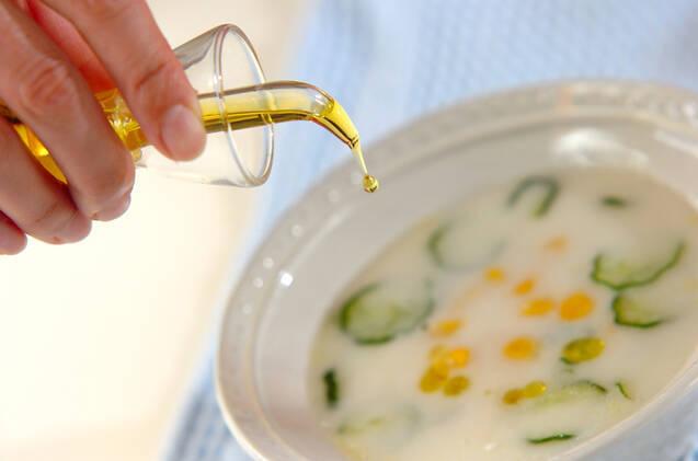 キュウリのヨーグルトスープの作り方の手順5