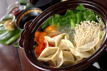 家族鍋(餃子)