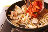 たっぷりモヤシのキムチ炒めの作り方7
