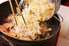 たっぷりモヤシのキムチ炒めの作り方の手順7