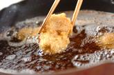 串カツ・マグロとアボカドの作り方2