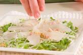 中華風お刺身のサラダの作り方8