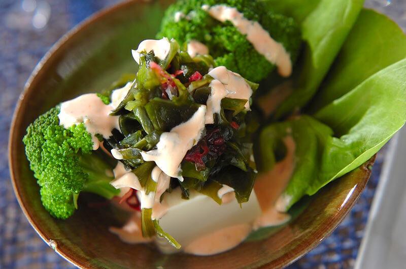 2.豆腐サラダ