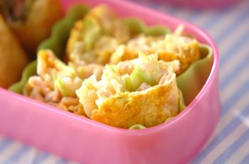 ベーコンと野菜のオムレツ