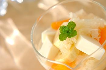 豆乳アンニン豆腐