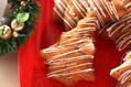 クリスマスツリーの形のリンゴケーキ