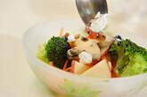 リンゴの黒ゴマドレッシングサラダの作り方5