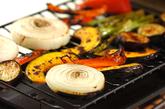 焼き野菜のたっぷりミートソース添えの作り方1