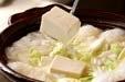 みぞれ湯豆腐の作り方2