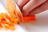 ピリ辛カルビ生春巻きの作り方の手順5