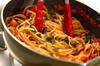 タコとトマトの煮込みパスタの作り方の手順9