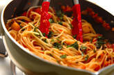 タコとトマトの煮込みパスタの作り方9