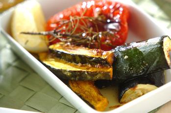 夏のごちそう!夏野菜のオーブン焼き