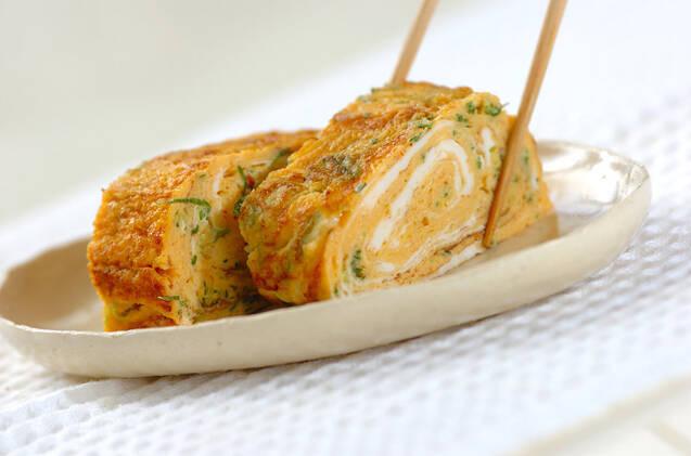 ピリ辛卵焼きの作り方の手順4
