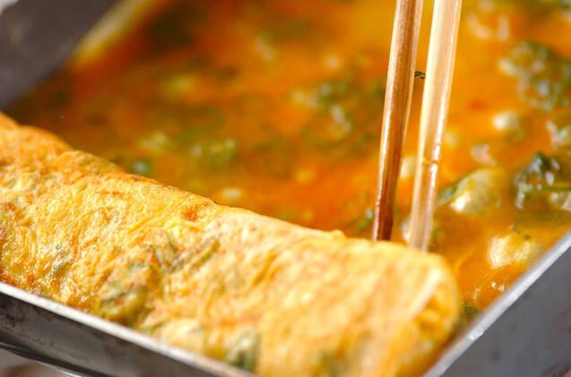 ピリ辛卵焼きの作り方の手順3