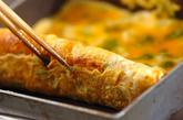 ピリ辛卵焼きの作り方1