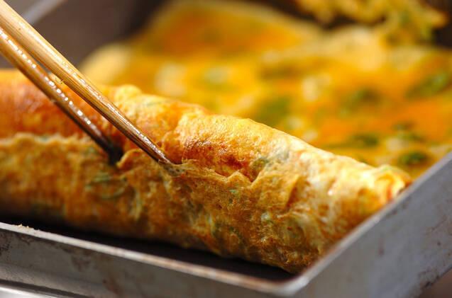 ピリ辛卵焼きの作り方の手順2