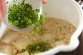 豆腐とエノキのお吸い物の作り方4