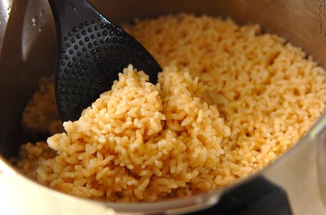 圧力鍋で玄米の炊き方の作り方の手順4