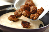 肉団子のクリーム和えの作り方5