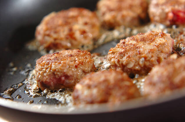 肉団子のクリーム和えの作り方の手順4