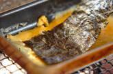 焼きのりの卵焼きの作り方1