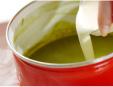 抹茶プリンの作り方3