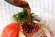 タコとトマトと大葉のサラダの作り方1