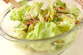 レタスののり和えサラダの作り方6