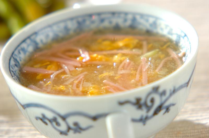 冬瓜と卵のとろみスープ