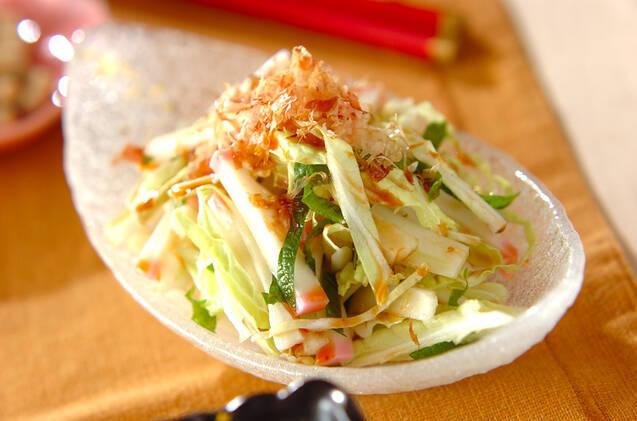 白菜と大葉のサラダ
