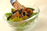 ナスのツナドレッシングサラダの作り方3