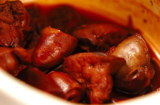 鶏レバーの佃煮の作り方の手順2