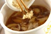 ささ身のショウガスープの作り方1