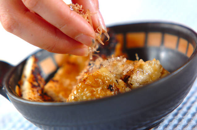 焼きナスと焼き油揚げの作り方の手順5