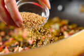 高菜漬けの豆腐和えの作り方3