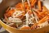 根菜のきんぴらの作り方の手順4