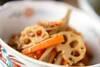 根菜のきんぴらの作り方の手順