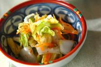 白菜の簡単もみ漬け
